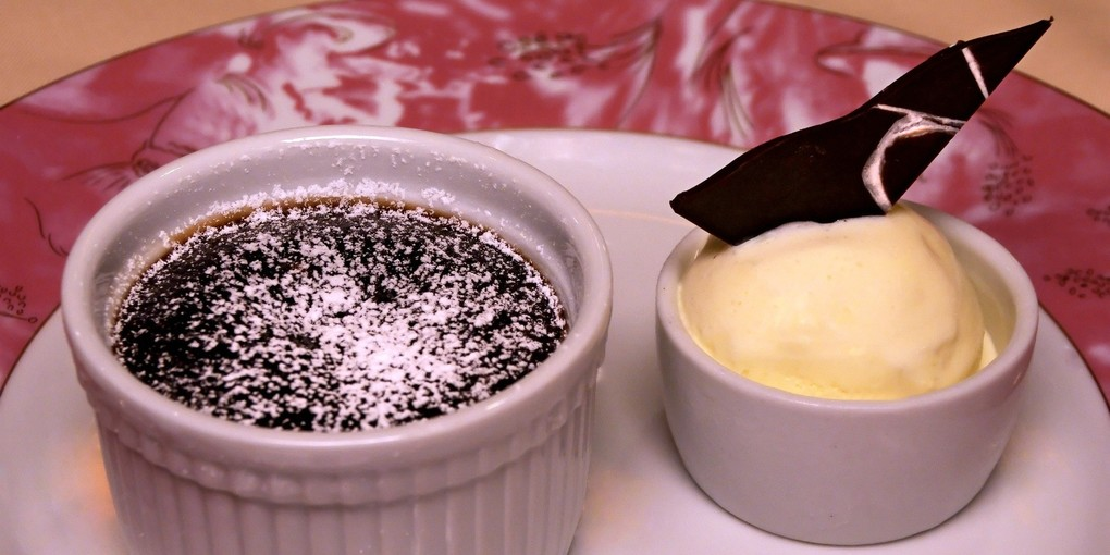 Melting Chocolate Cake From Carnival Cruise Line